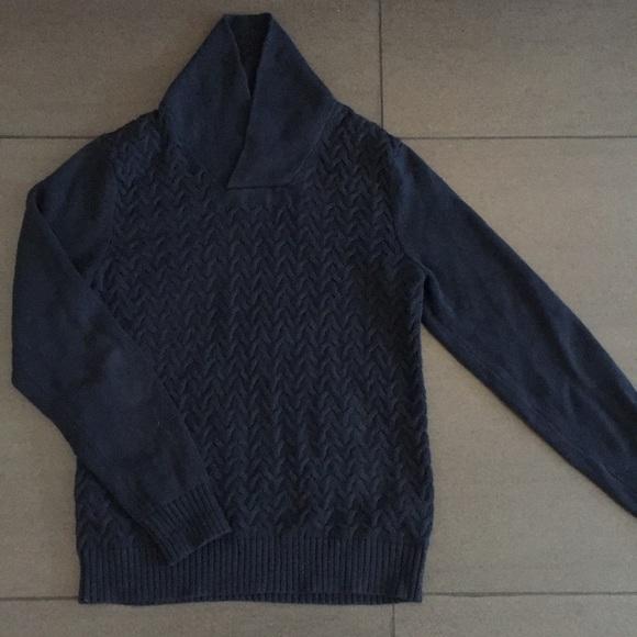 Banana Republic Sweaters Mens Shawl Collar Sweater Small Poshmark